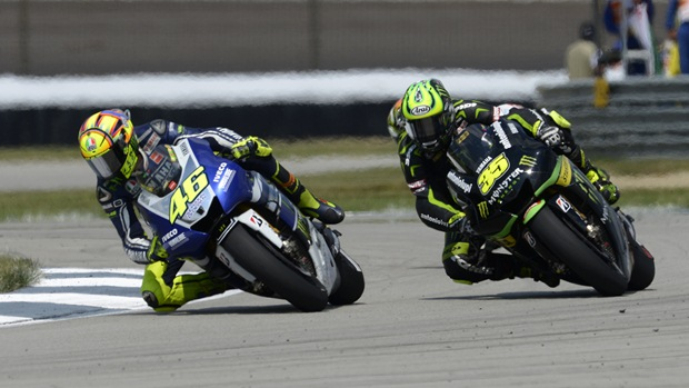 valentino rossi cal crutchlow indianapolis