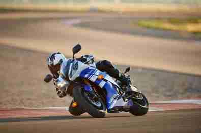 2014 Yamaha R6 Blue