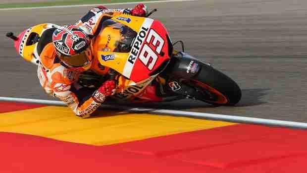 Marc Marquez MotoGP Aragon 2013 Free Practice report