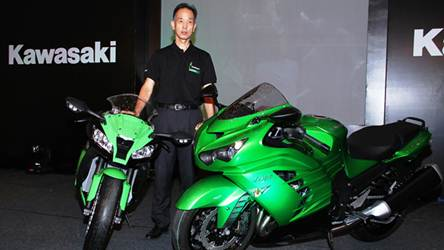 newly launched Ninja ZX-10R and Ninja ZX-14R for india
