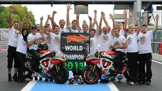 Sam Lowes World Supersport Champion 2013