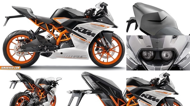 ktm rc390 india photographs