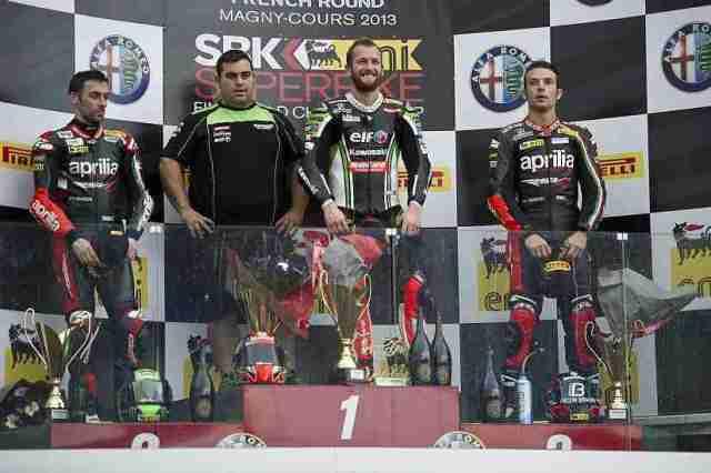 wsbk magny cours race 1 winners