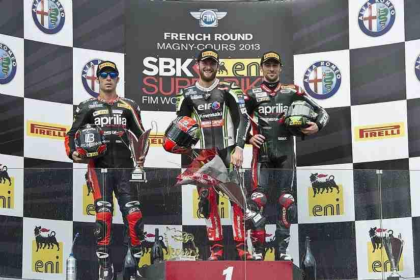 wsbk magny cours race 2 winners