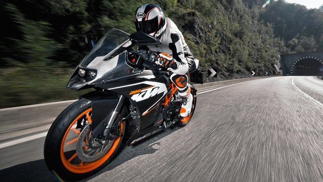 Ktm Rc390 Amp Rc200 Specifications And Photographs