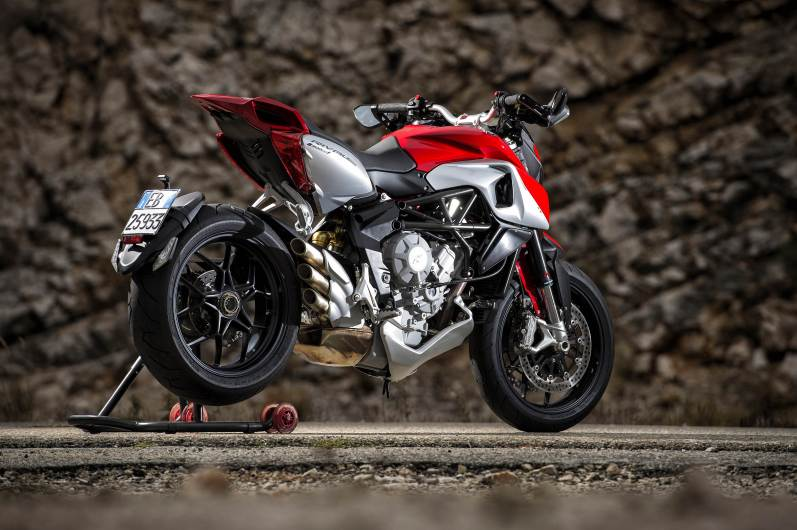 MV Agusta Rivale 800 wallpapers - 06