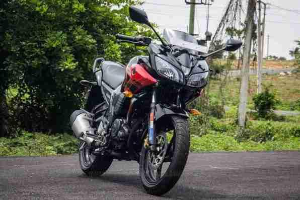 Yamaha Fazer India review - 08