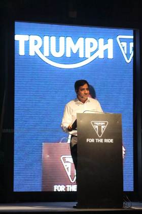 triumph motorcycles india launch - 01