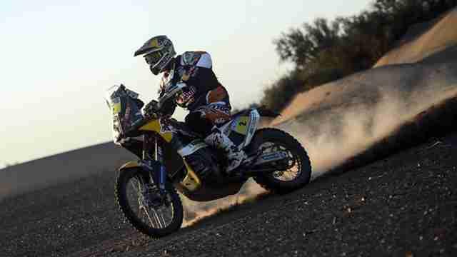 Dakar 2014 KTM Stage 5 Marc Coma