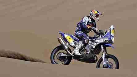 Dakar 2014 Yamaha Stage 10 update