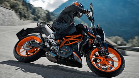 KTM Duke 390 colour