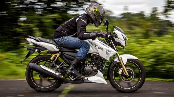 TVS Apache RTR 180 review - 07