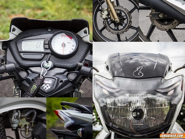 tvs apache rtr 180 review  specifications  price  mileage