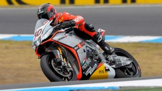 WSBK 2014 Phillip Island - Aprilia begin strong