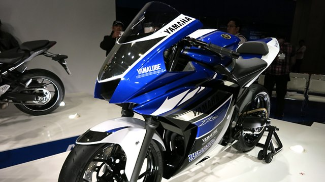 auto expo 2014 - yamaha preview
