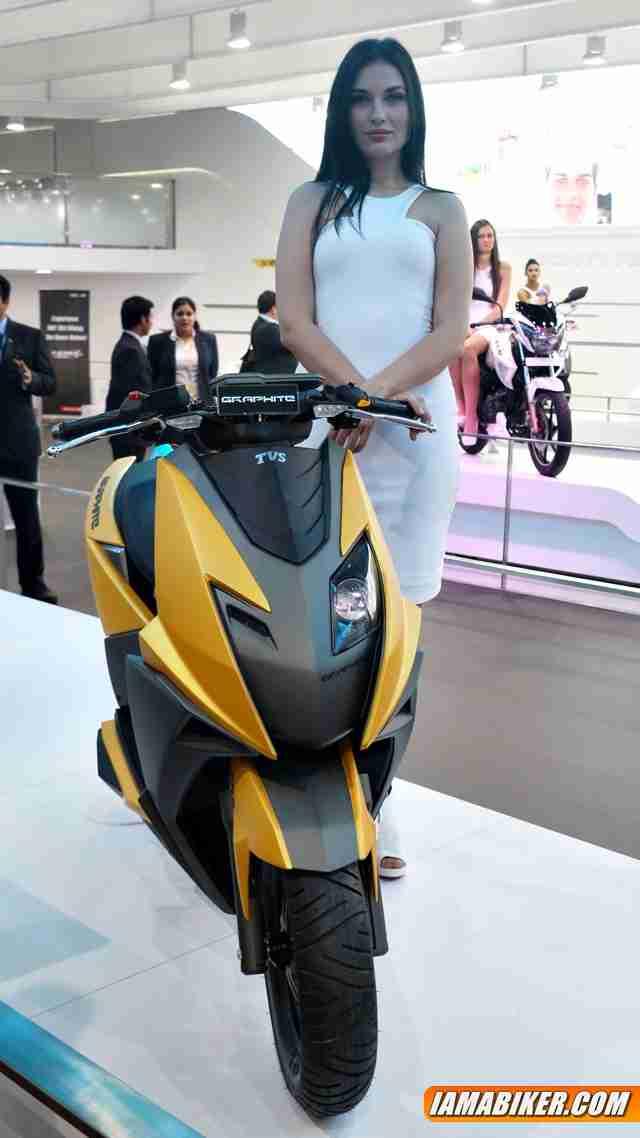 tvs graphite scooter concept