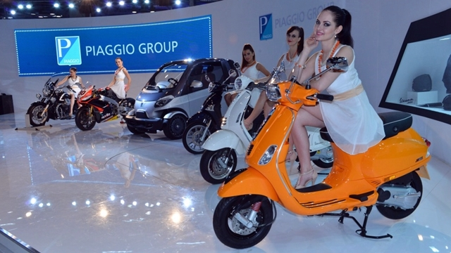 vespa s india launch soon - auto expo 2014
