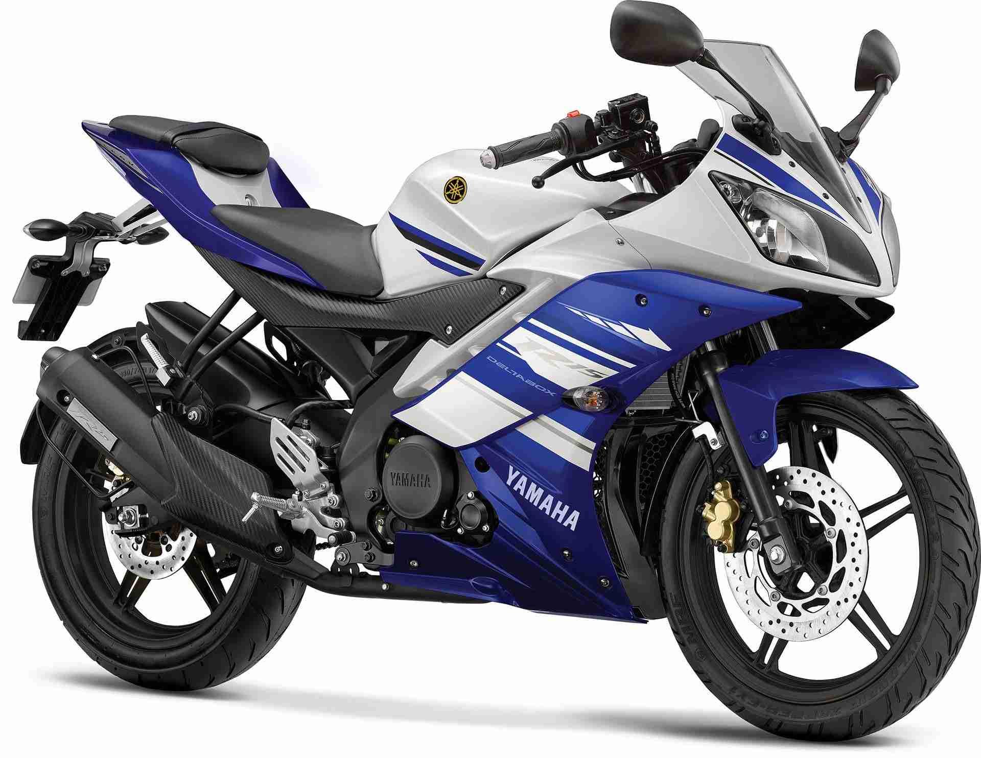 2014 Yamaha YZF-R15 colour Racing Blue