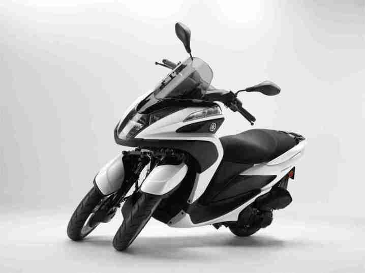 2015 Yamaha Tricity White