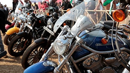 H.O.G. Ride to Udaipur begins
