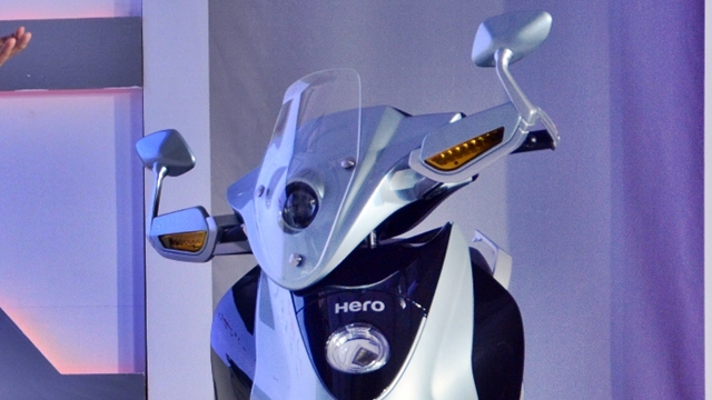 Hero Leap head light