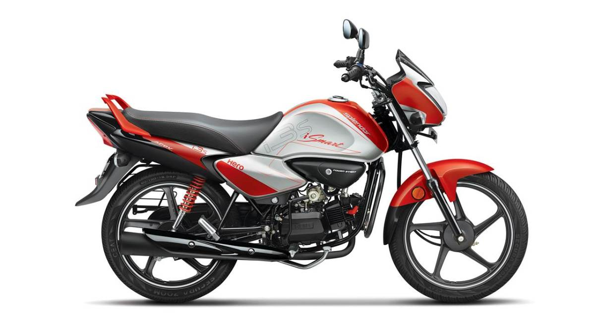Hero iSmart Side Red colour
