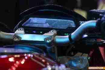 New Pulsar CS 400 speedometer