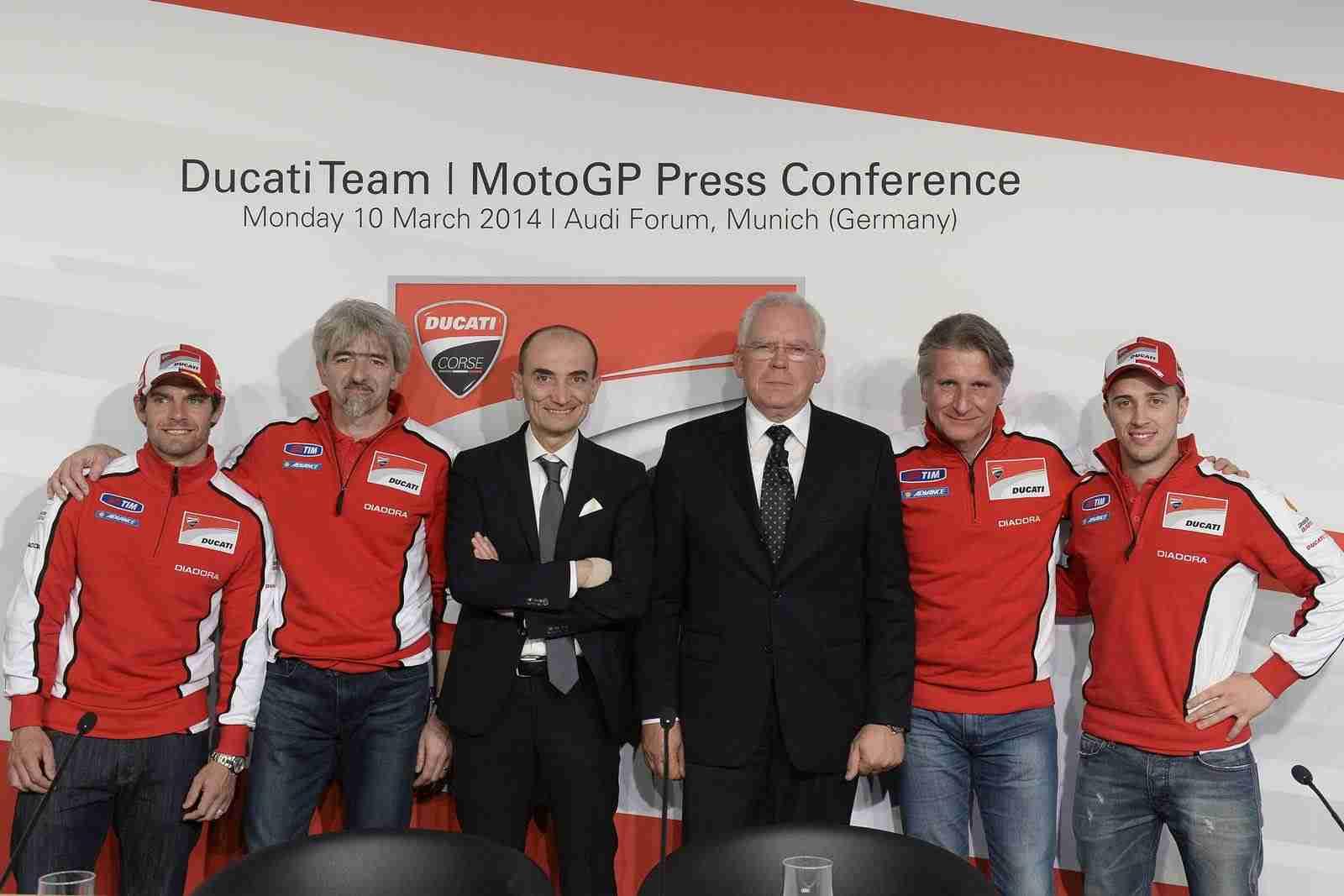 Ducati MotoGP team 2014