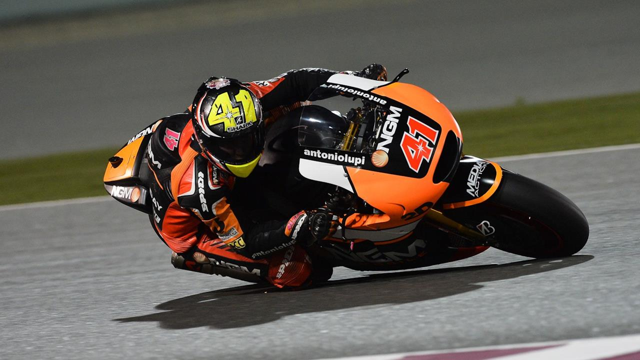 aleix espargaro MotoGP 2014 Qatar FP1 timings