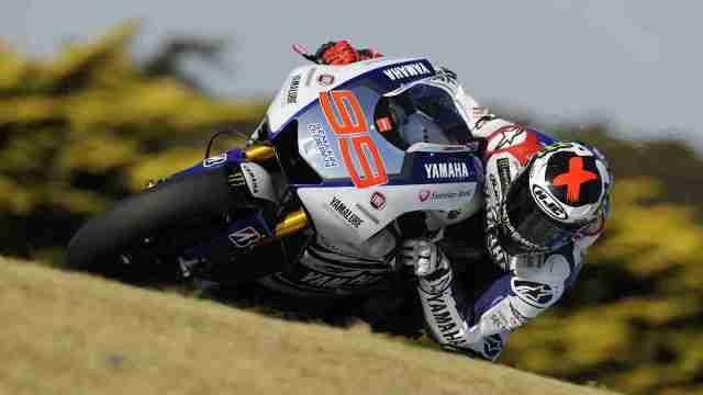 jorge lorenzo Bridgestone MotoGP tyre test at Phillip Island report