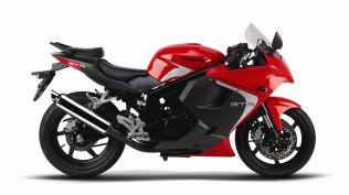 2014 Hyosung GT250R Red