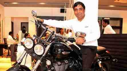 Mr Vimal Sumbly Triumph Motorcycles Kochi