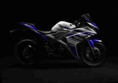 Yamaha YZF-R25 side view