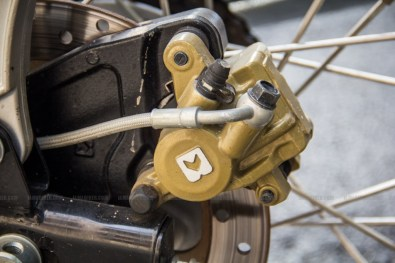Continental GT - back disc calliper