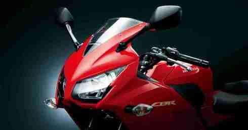 New Honda CBR 250R headlights