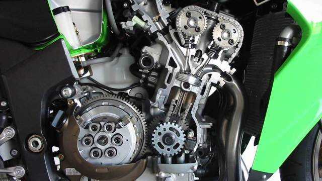 kawasaki 4 cylinder 250 engine rebirth