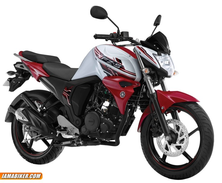 new yamaha fz-s 2.0 Moonwalk White colour