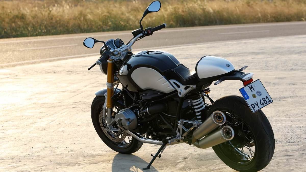 BMW R NineT India
