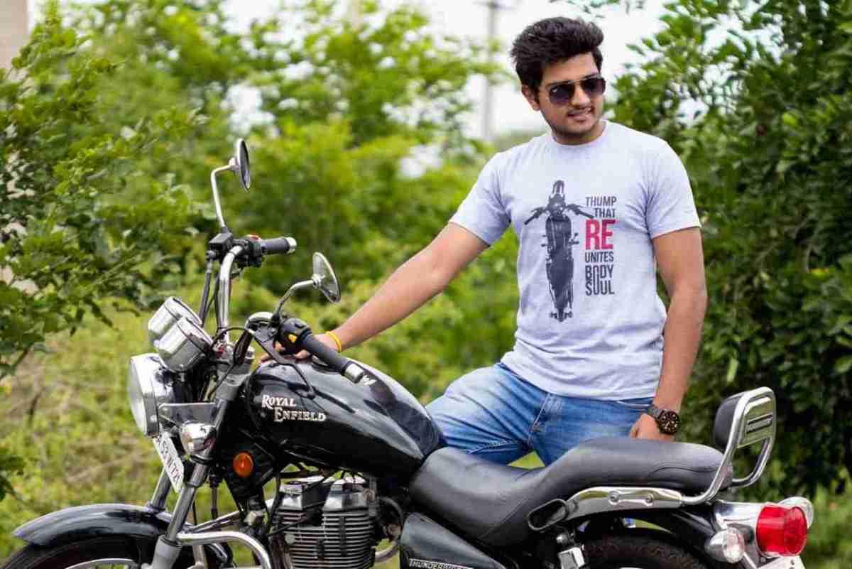 biker motorcycling t shirts from Chulbul IAMABIKER