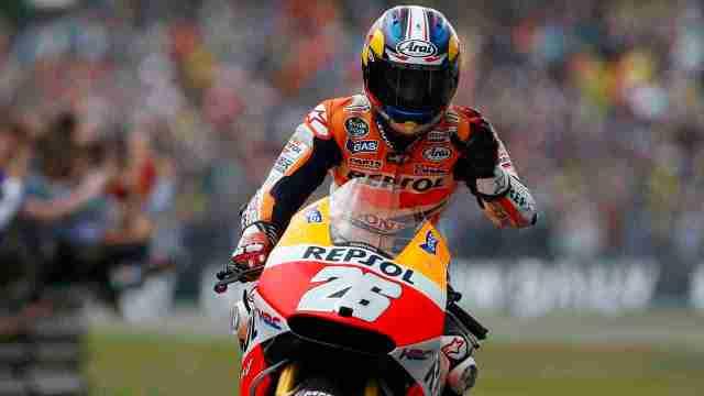 Honda renews contract with Dani Pedrosa