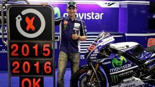 Lorenzo - Yamaha extend contract