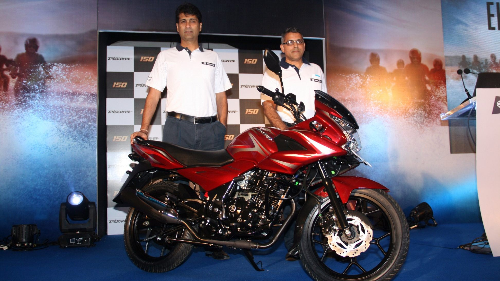 New Bajaj Discover 150F and 150S launched