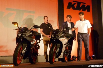 KTM RC 390 RC launch India - 01