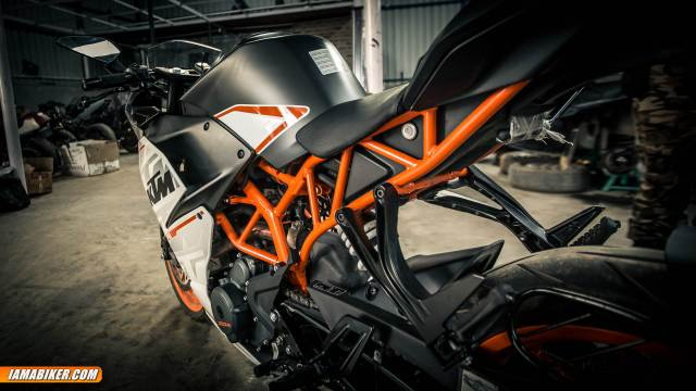 ktm rc390 review