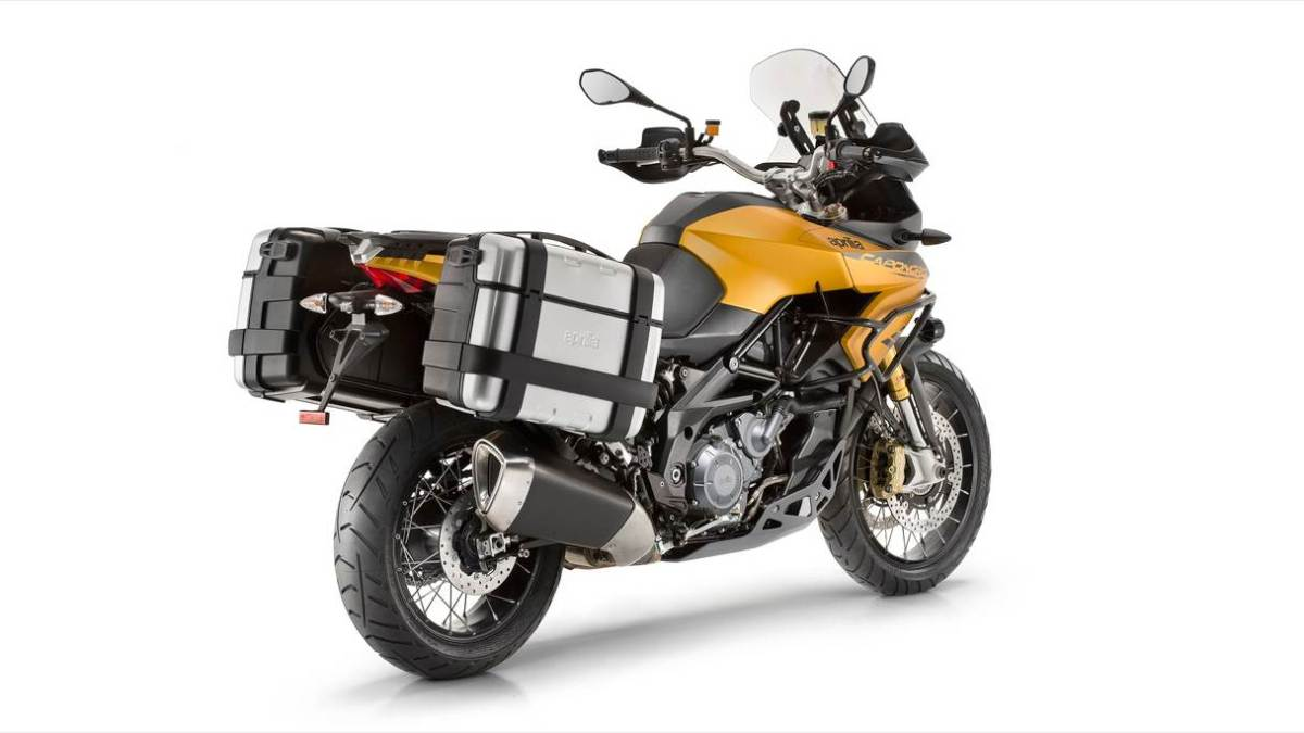 new aprilia caponord rally
