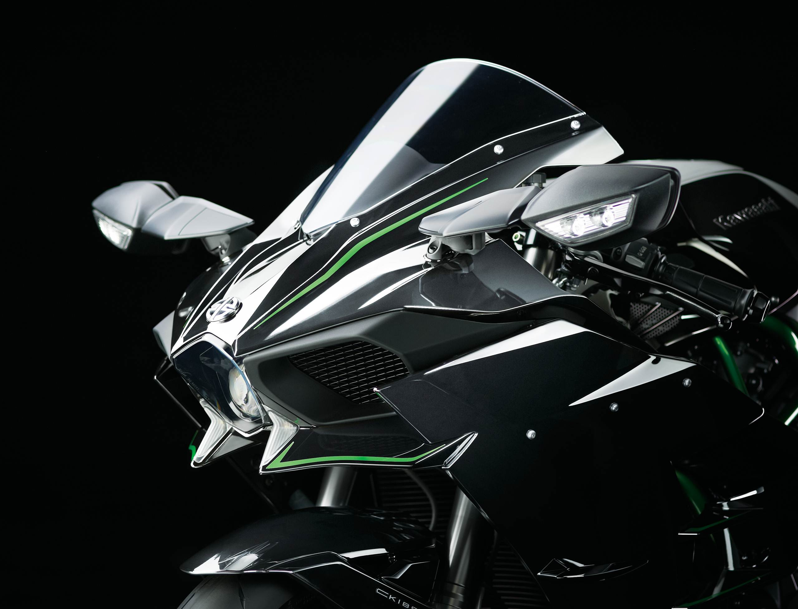 2015 kawasaki ninja h2 front section