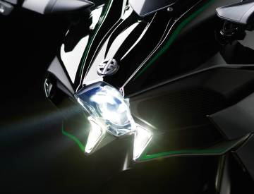 2015 kawasaki ninja h2 headlight