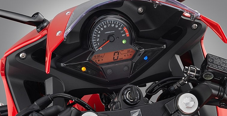new honda cbr300r cockpit