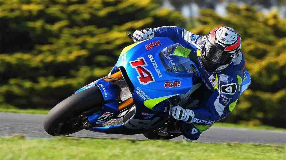 suzuki motogp valencia randy de puniet 2014