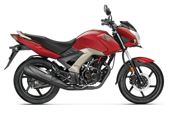 honda cb unicorn 160 colour - imperial red metallic
